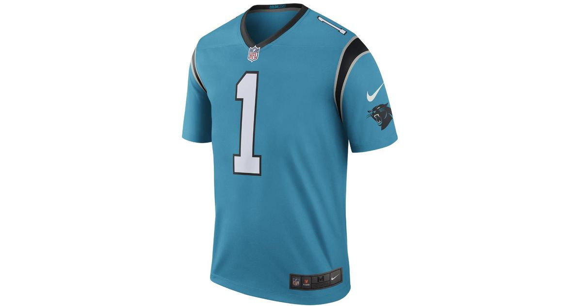 3ca1f4a6645 ... coupon code for lyst nike nfl carolina panthers color rush legend cam  newton mens football jersey