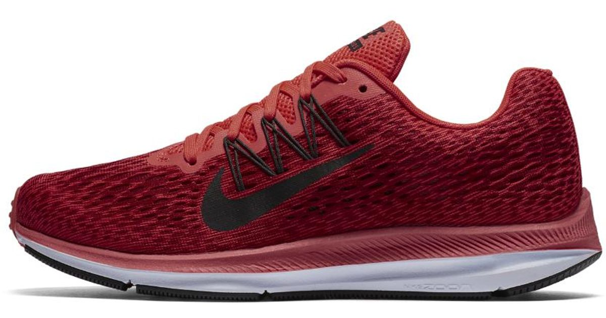 34308b13892a Nike Air Zoom Winflo 5 Women s Running Shoe in Red - Lyst