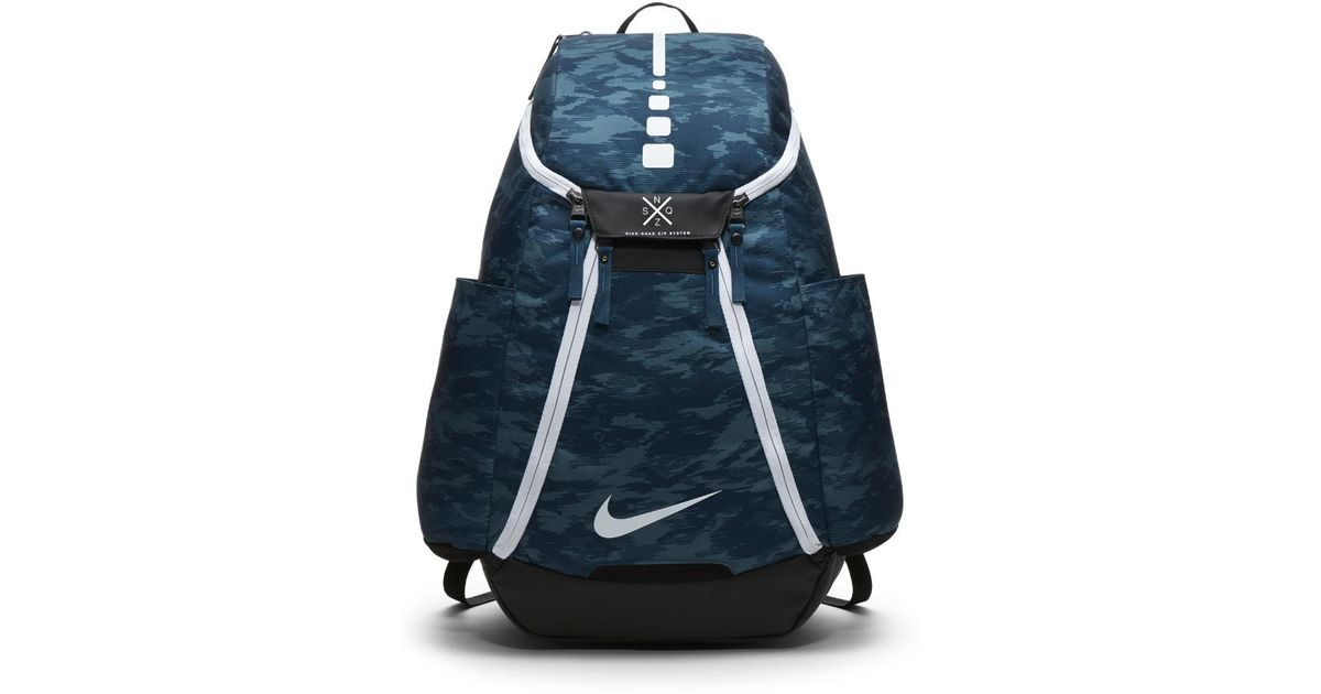 7c44cd339e0c Lyst - Nike Hoops Elite Max Air Team 2.0 Graphic Basketball Backpack (blue)  in Blue for Men