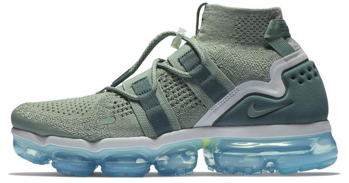 c7462bd2a7d99 Lyst - Nike Air Vapormax Flyknit Utility Running Shoe in Green for Men