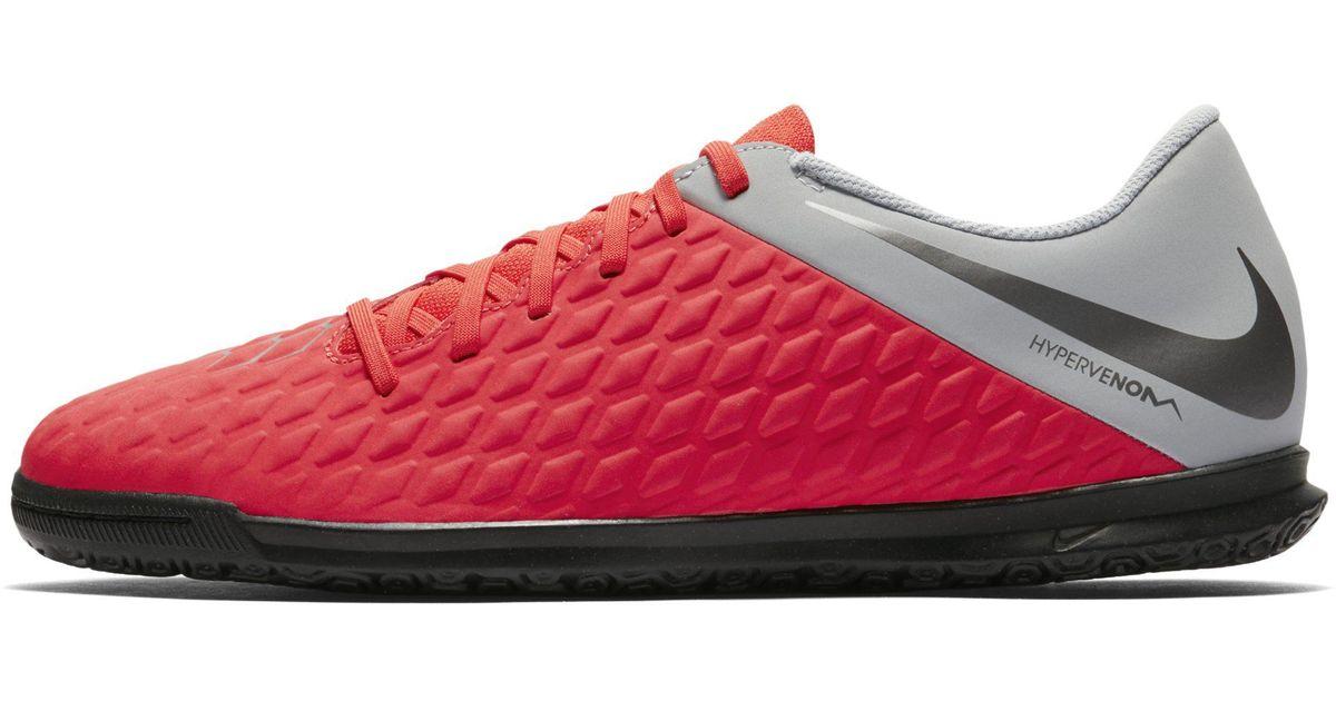 0a46263e4 Nike Hypervenomx Phantom Iii Club Ic Indoor court Football Shoe in Red -  Lyst