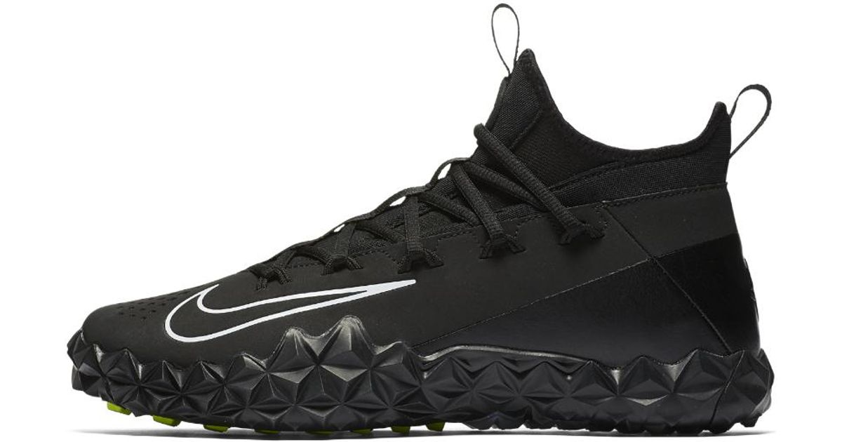 6d2523f53f8 Nike Alpha Huarache 6 Elite Turf Lax Lacrosse Cleat in Black for Men - Lyst