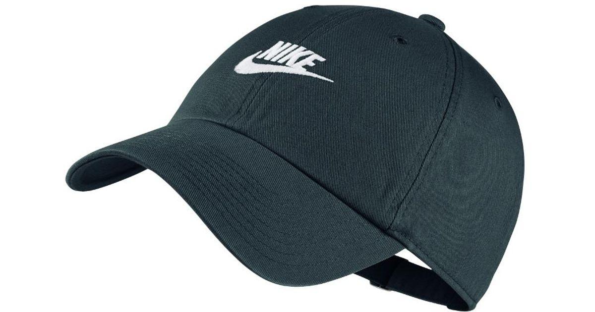 Lyst - Nike Sportswear Heritage 86 Adjustable Hat (grey) in Gray for Men 1caaa568990