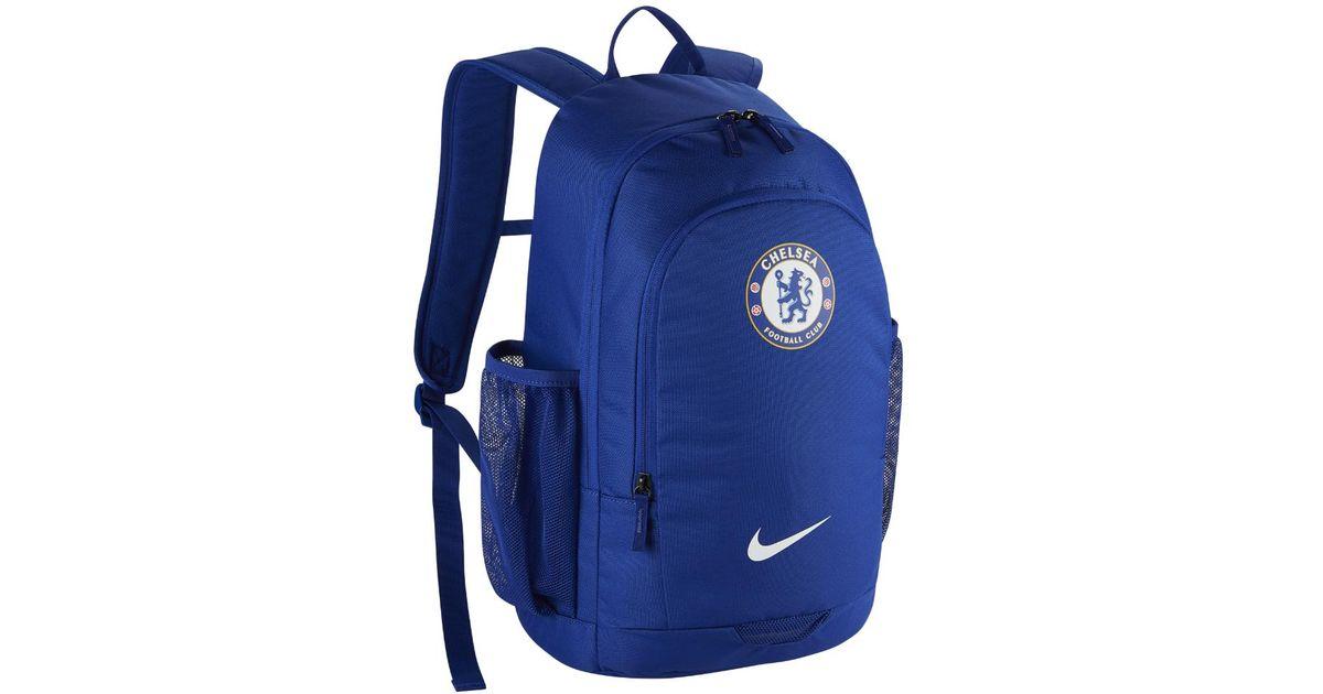 Lyst - Nike Chelsea Fc Stadium Soccer Backpack (blue) in Blue for Men 6f690e7dc2ea4