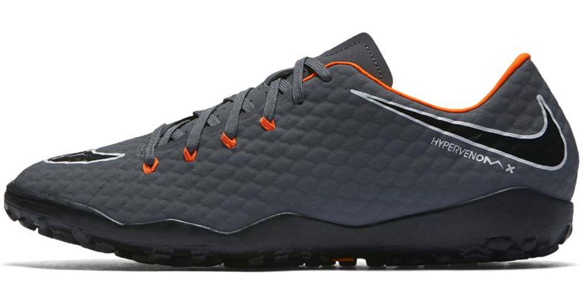19f2b860c4 Lyst - Nike Hypervenom Phantomx Iii Academy Tf Artificial-turf Soccer Shoe  in Gray for Men