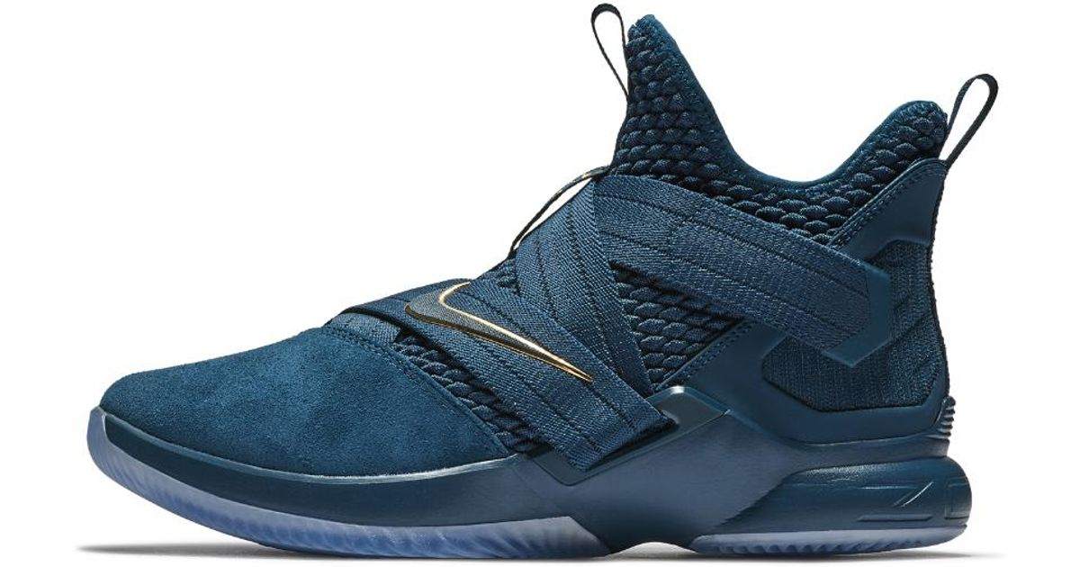 9f72964bb1e Lyst - Nike Lebron Soldier Xii Sfg Basketball Shoe in Blue
