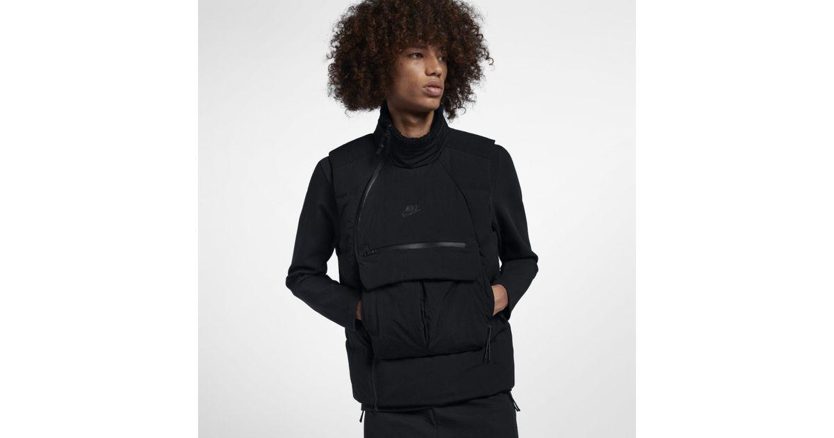 Veste sans manches Sportswear Tech Pack Down Fill pour Homme Nike pour homme en coloris Black