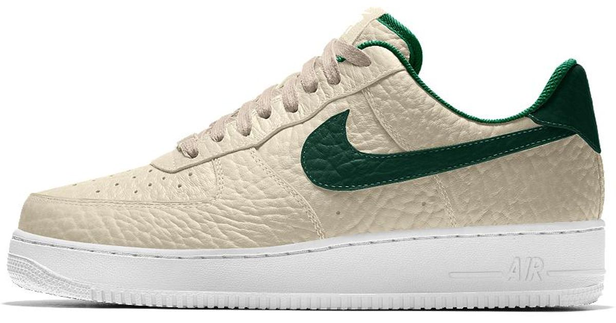 Lyst - Nike Air Force 1 Low Premium Id (milwaukee Bucks) Men's Shoe in  White for Men