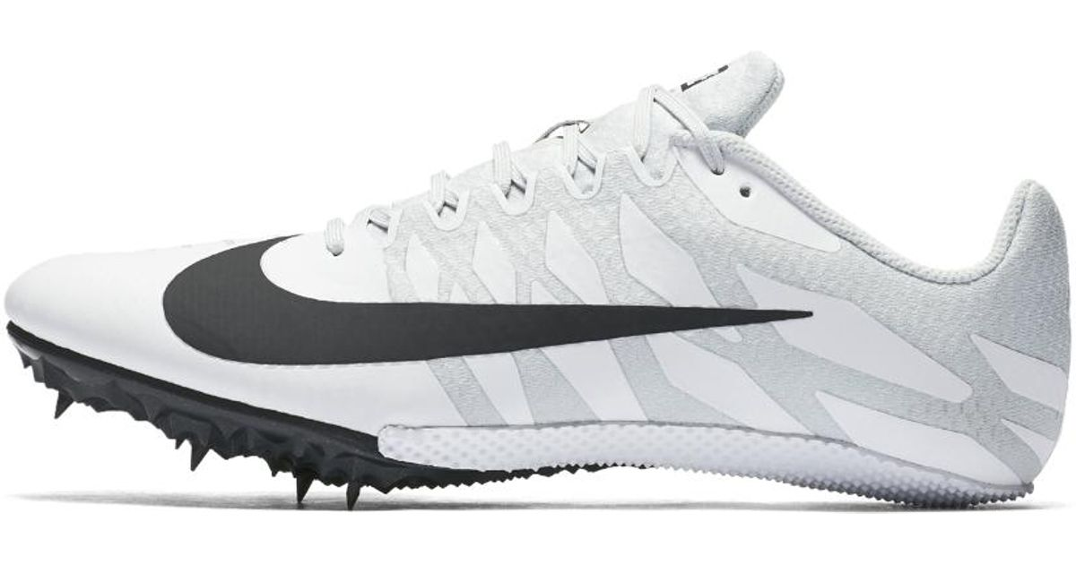 Lyst - Nike Zoom Rival S 9 Track Spike in White for Men f90bf2036