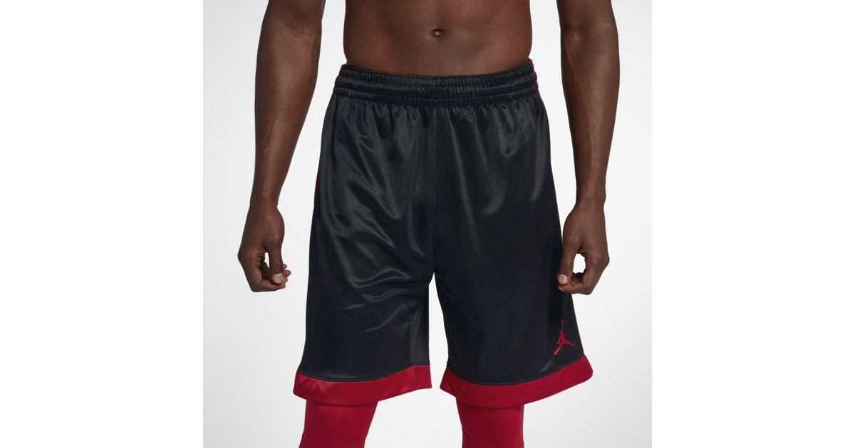 quality design 7a4c4 16a1f Nike Jordan Shimmer Basketball Shorts in Black for Men - Lyst