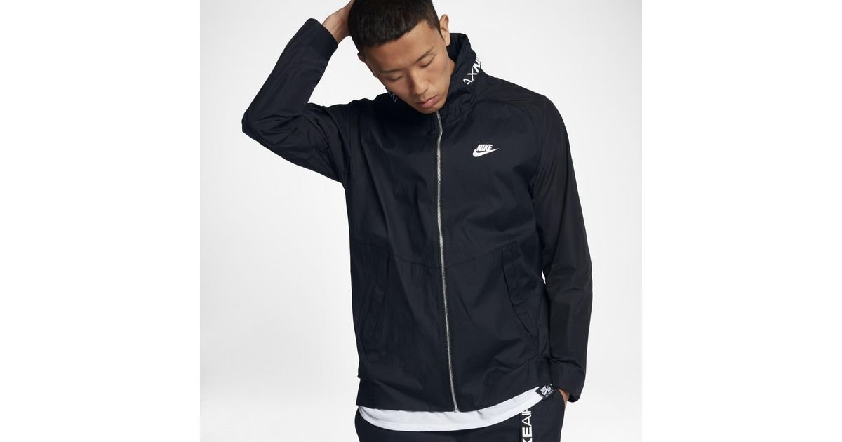 84018fc737fc Lyst - Nike Sportswear Air Max Men s Jacket in Black for Men