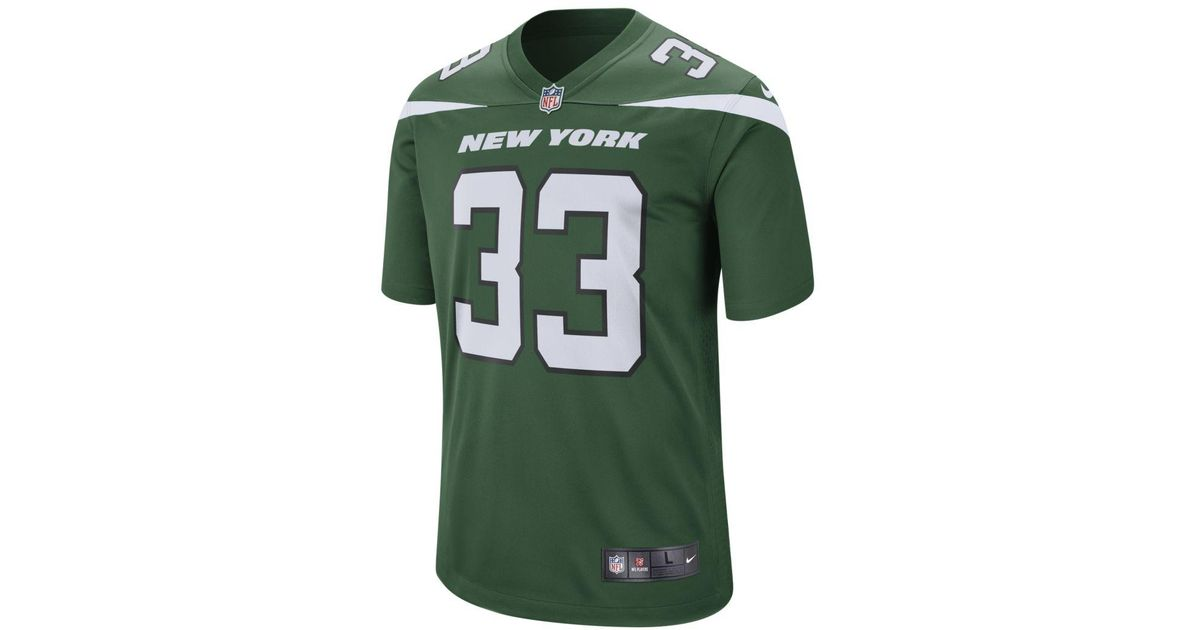 3f9f64d9777 Nike Nfl New York Jets (jamal Adams) Game Football Jersey in Green for Men  - Lyst
