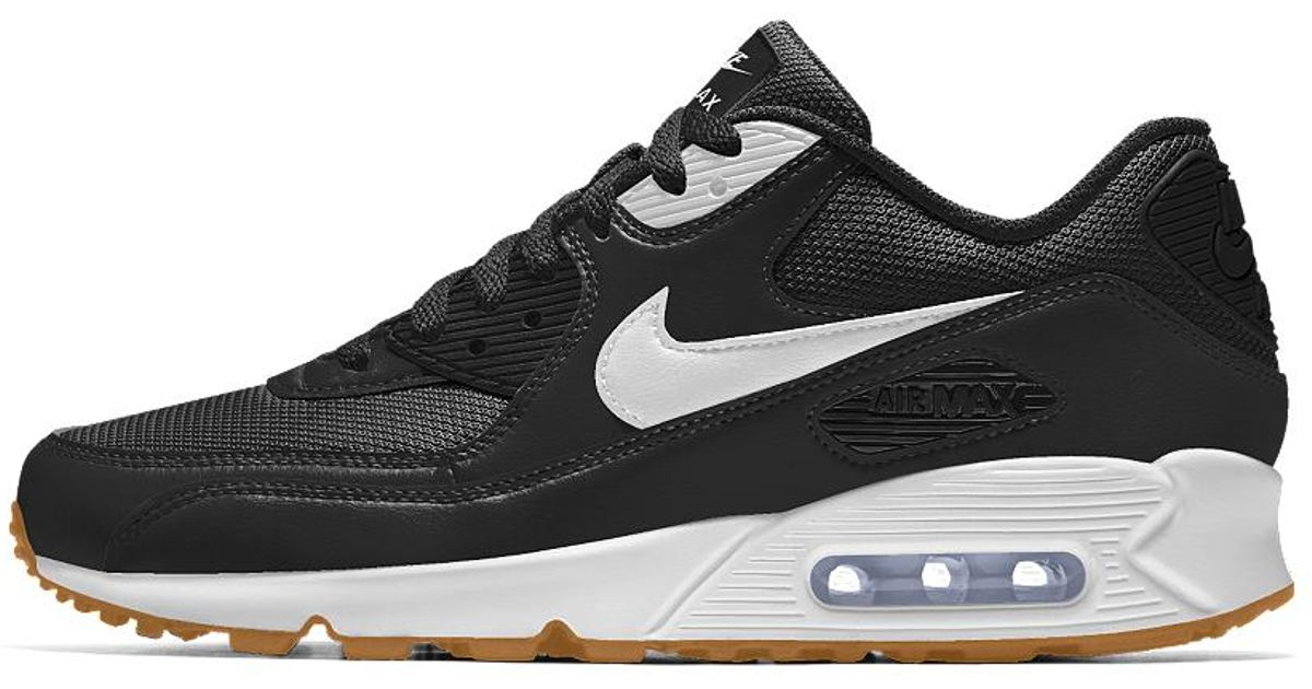 timeless design dbfd5 65829 Lyst - Nike Air Max 90 Id Mens Shoe in Black for Men
