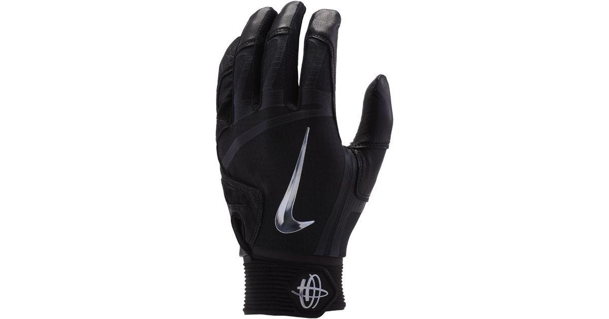 4c72dcce5c56 Lyst - Nike Huarache Elite Baseball Batting Gloves in Black for Men