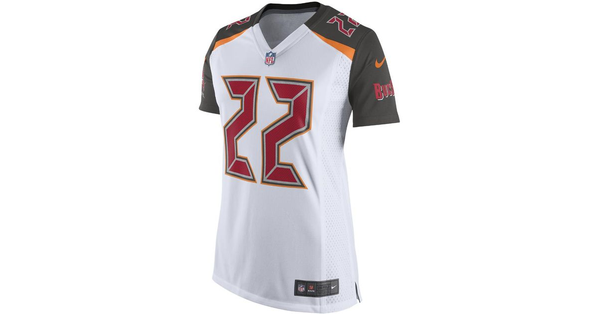 Lyst - Nike Nfl Tampa Bay Buccaneers (doug Martin) Women s Football Away  Game Jersey in White f8094c226
