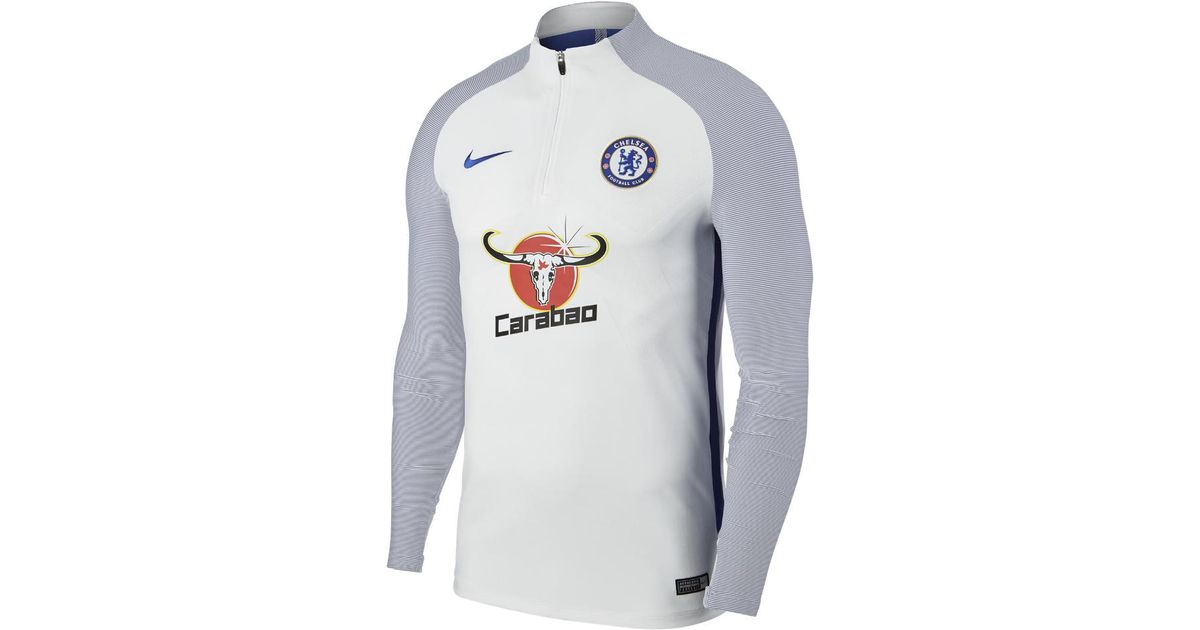 Lyst - Nike Chelsea Fc Aeroswift Strike Drill Men s Soccer Top in Blue for  Men fb825f699