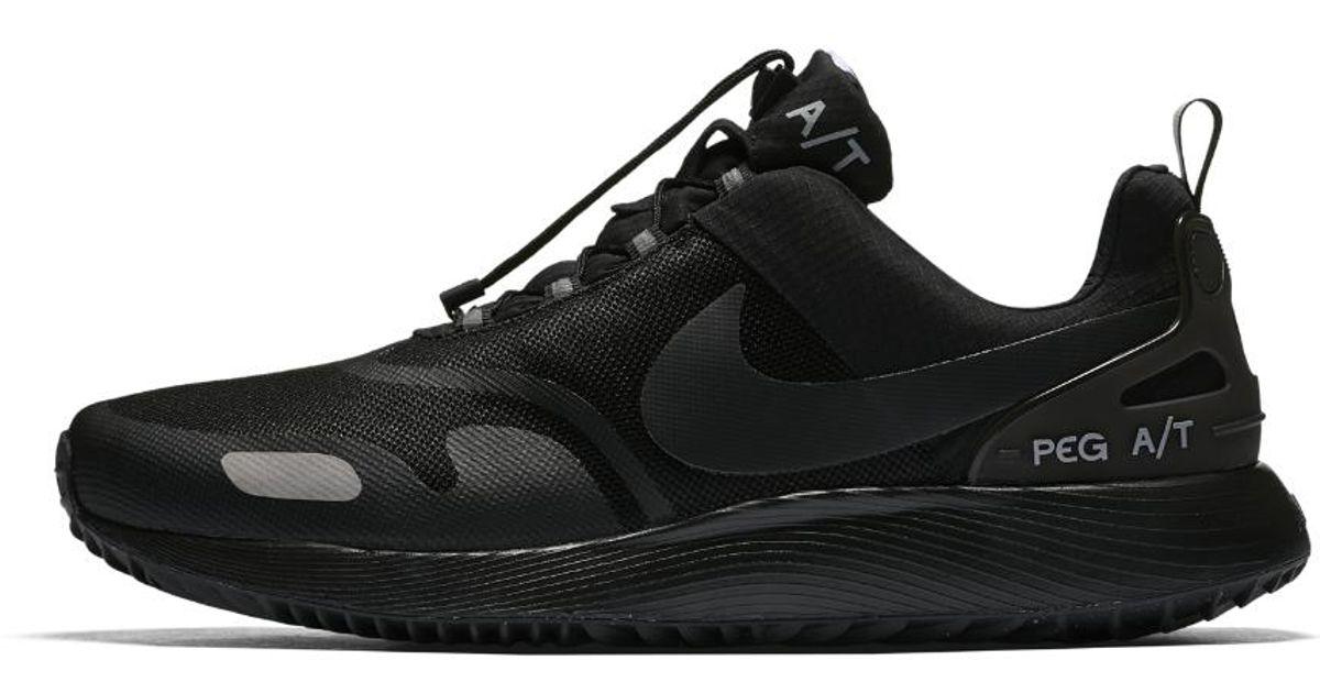 dbbc33e474d0 Lyst - Nike Air Pegasus Winter At Men s Shoe in Black for Men