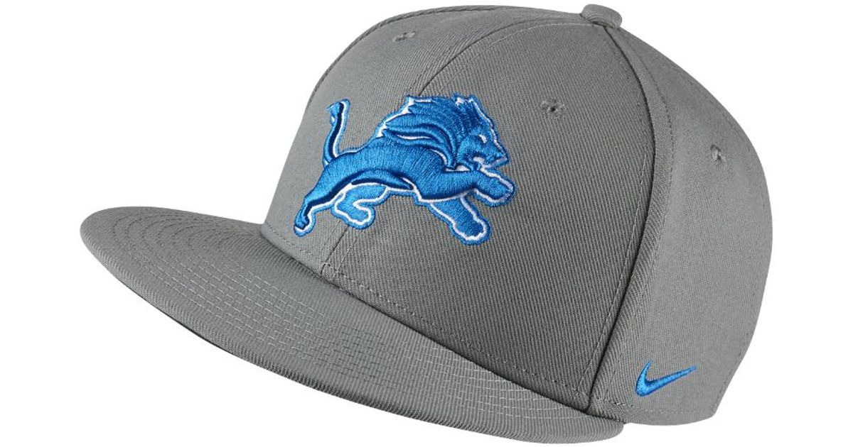 Lyst - Nike Energy Xc True (nfl Lions) Adjustable Hat (grey) in Gray for Men d08a25f70