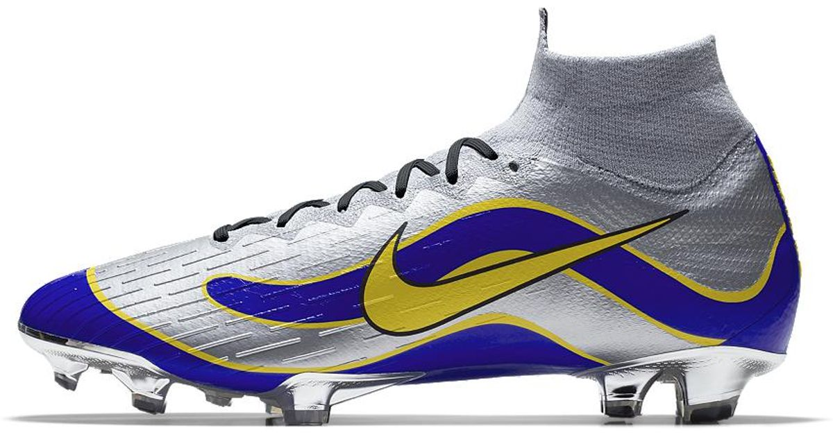 more photos 9318b b99ac Nike Mercurial Superfly 360 Elite Fg Id Men s Firm-ground Soccer Cleats in  Blue for Men - Lyst