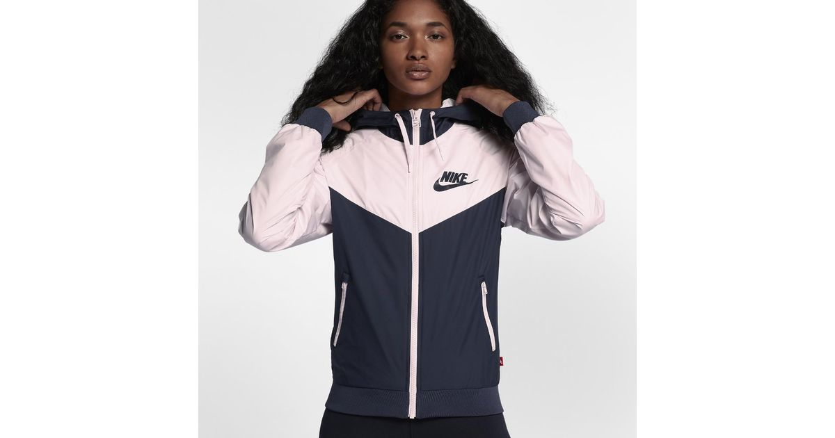 Nike - Multicolor Sportswear Windrunner Women s Jacket - Lyst b61a64872