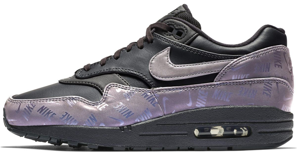 86f851a96 Nike Air Max 1 Lx Shoe in Gray - Lyst