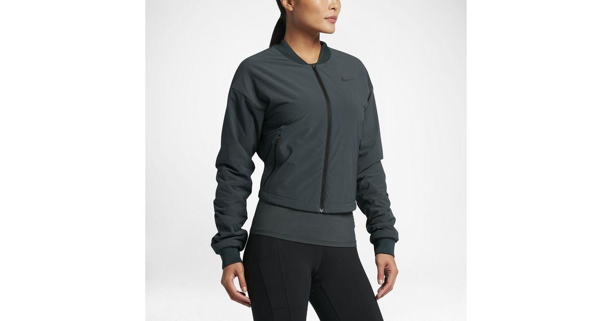245511cfc Training Lyst Women s Nike Jacket Aerolayer nRTxwR