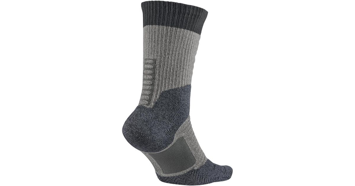 8d739a4d6596 Lyst - Nike Sb Elite Skate 2.0 Crew Socks in Gray for Men