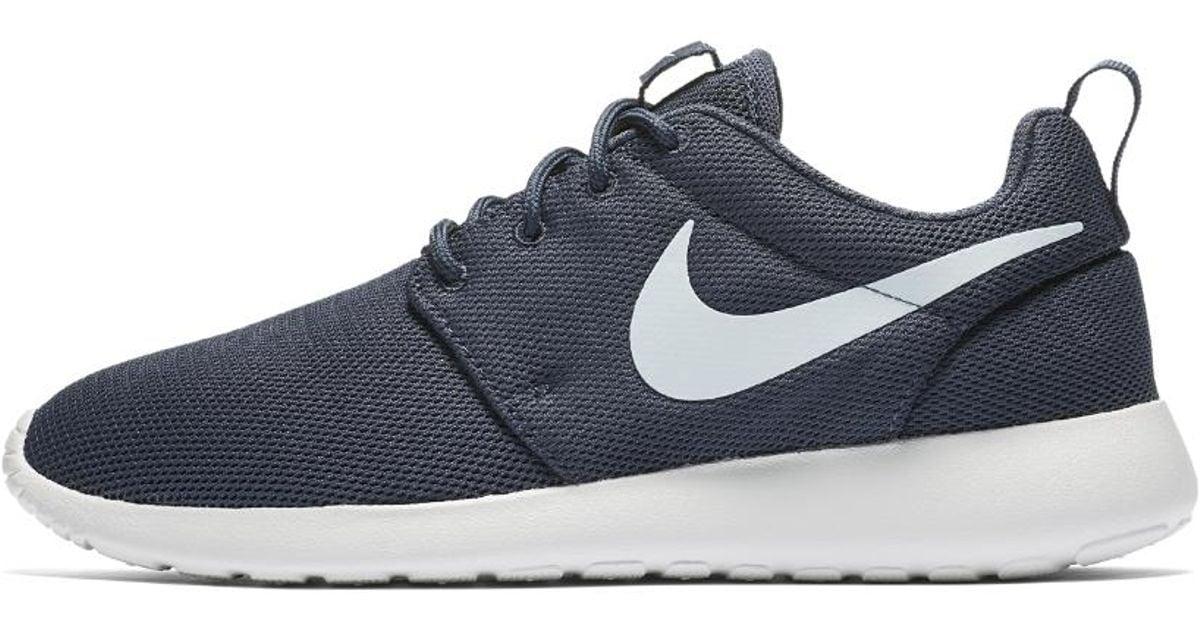 size 40 878c4 32738 Lyst - Nike Roshe One Womens Shoe in Blue