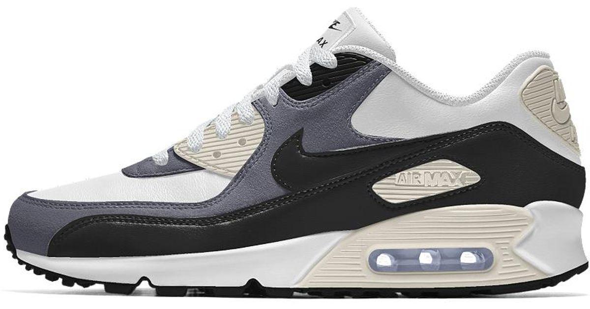 online store f5871 0d57f Lyst - Nike Air Max 90 Id Women s Shoe