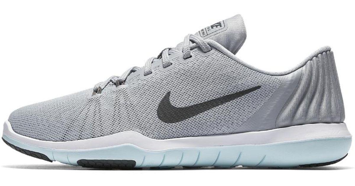 9531a436ce824 Lyst - Nike Flex Supreme Tr 5 Women s Training Shoe in Gray