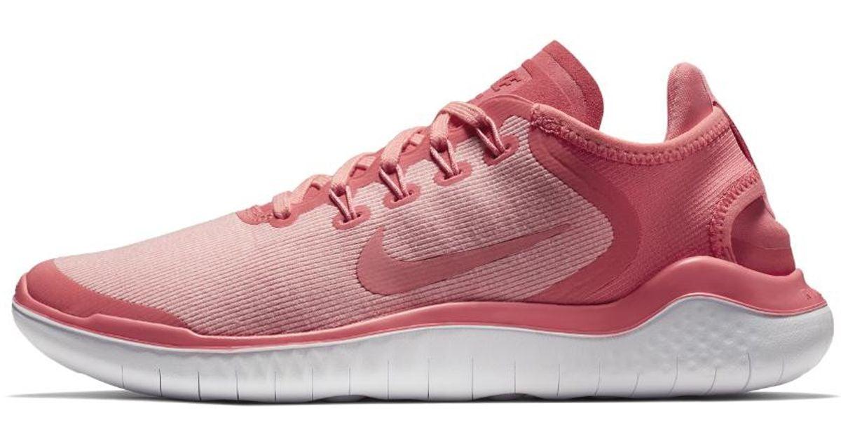 f7481cebb8cc Lyst - Nike Free Rn 2018 Sun Women s Running Shoe in Pink