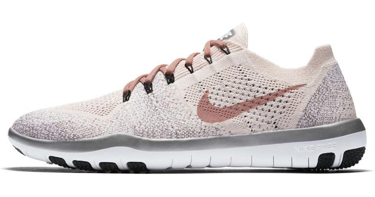 754b78577179 Lyst - Nike Free Focus Flyknit 2 Sneakers in White