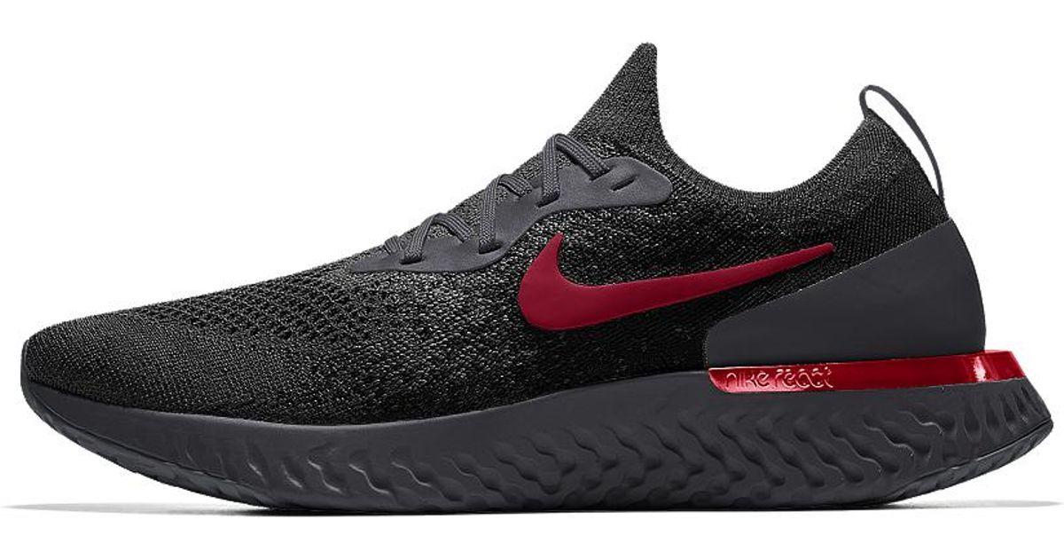 1e582faef109 Lyst - Nike Epic React Flyknit Id Men s Running Shoe for Men nike epic  react flyknit