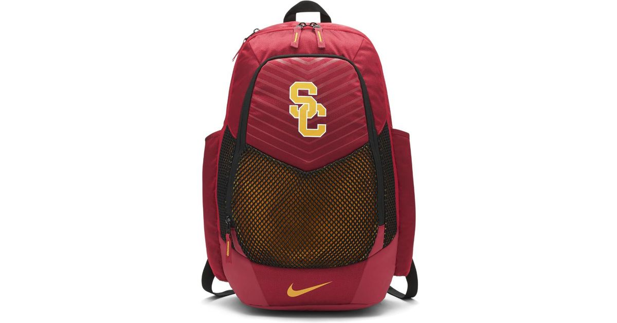 Lyst - Nike College Vapor Power (usc) Backpack (red) in Red 79bb6ee448447
