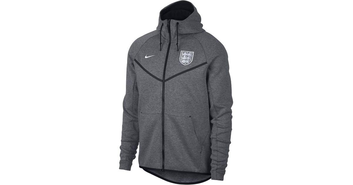 2cd6e877a Nike England Tech Fleece Windrunner Men's Jacket in Black for Men - Lyst