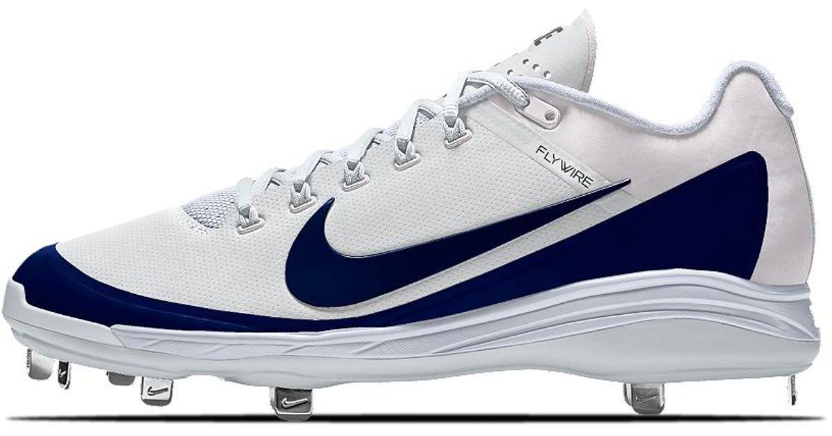73586b50ffef Nike Alpha Air Clipper '17 Metal Id Men's Baseball Cleats in Blue for Men -  Lyst