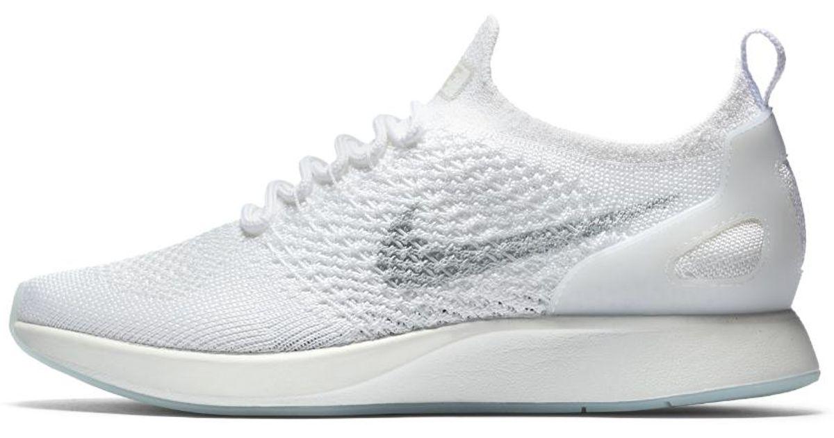 f2424a486f72 Lyst - Nike Air Zoom Mariah Flyknit Racer Women s Shoe in White