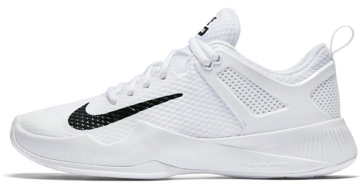 b29d6318544cff Lyst - Nike Air Zoom Hyperace Volleyball Sneakers in White