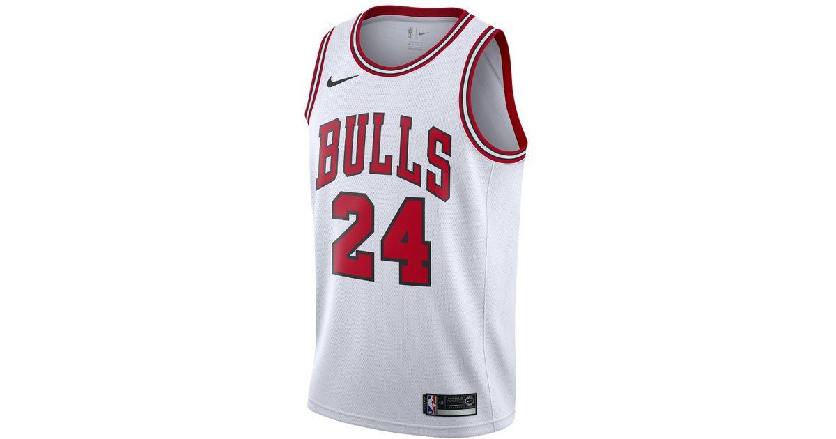 Lyst - Nike Lauri Markkanen Association Edition Swingman Jersey (chicago  Bulls) Men s Nba Connected Jersey in White for Men 9a3941231
