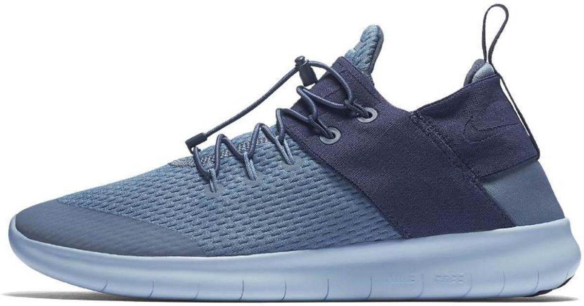 5f3272039faed Lyst - Nike Free Rn Commuter 2017 Men s Running Shoe in Blue for Men
