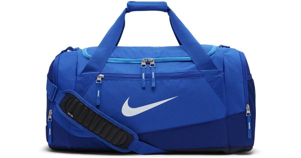 Lyst - Nike Hoops Elite Max Air Team (large) Basketball Duffel Bag (blue)  in Blue for Men