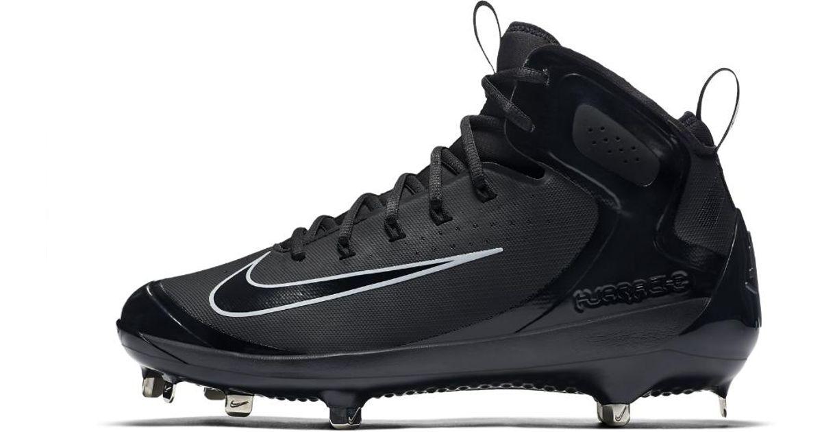 Lyst - Nike Alpha Huarache Elite Men s Baseball Cleats in Black for Men 0aa9215fd00d