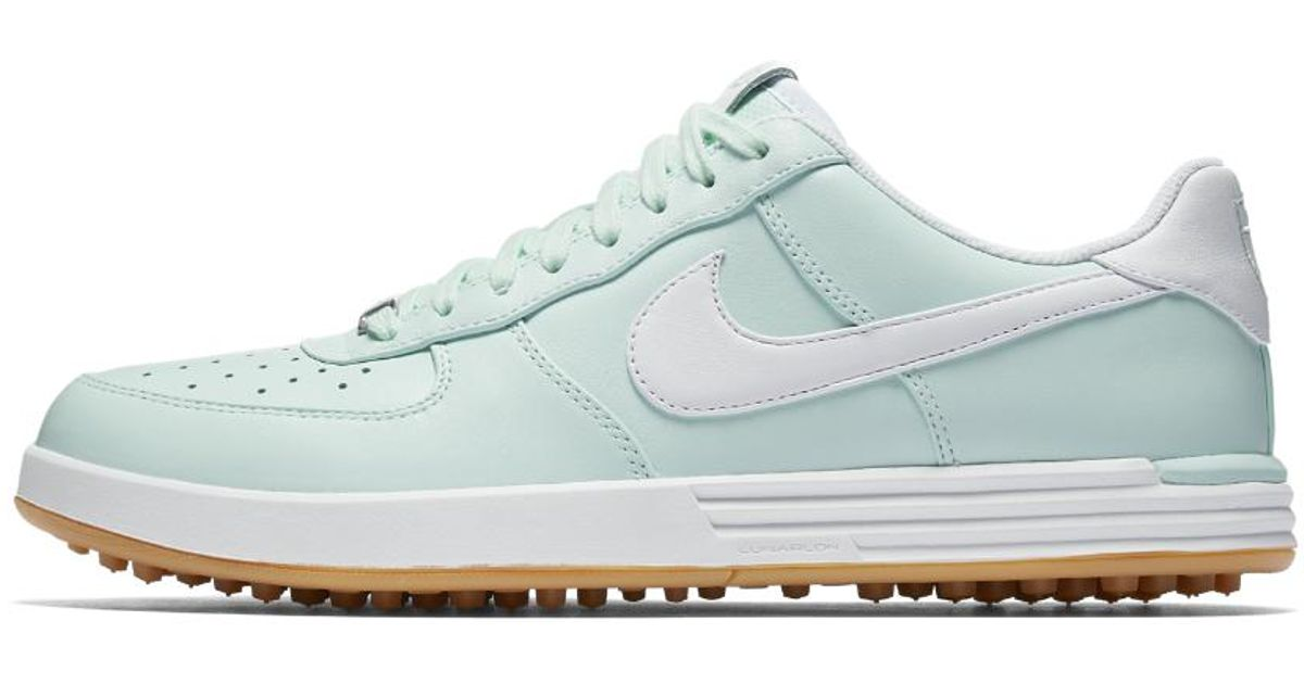 4a5a0584b0c66 Lyst - Nike Lunar Force 1 G Men s Golf Shoe in White for Men