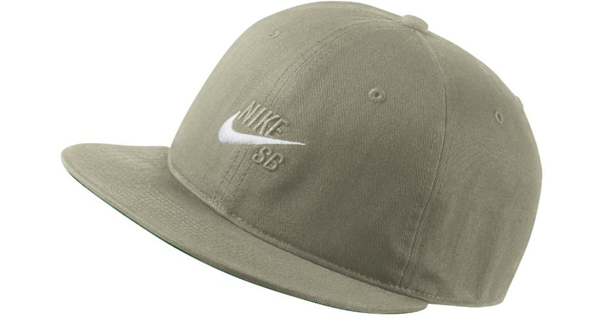 cheaper 9204c 0babd ... authentic lyst nike sb vintage adjustable hat olive clearance sale in  green for men 1bd6d 99ce0