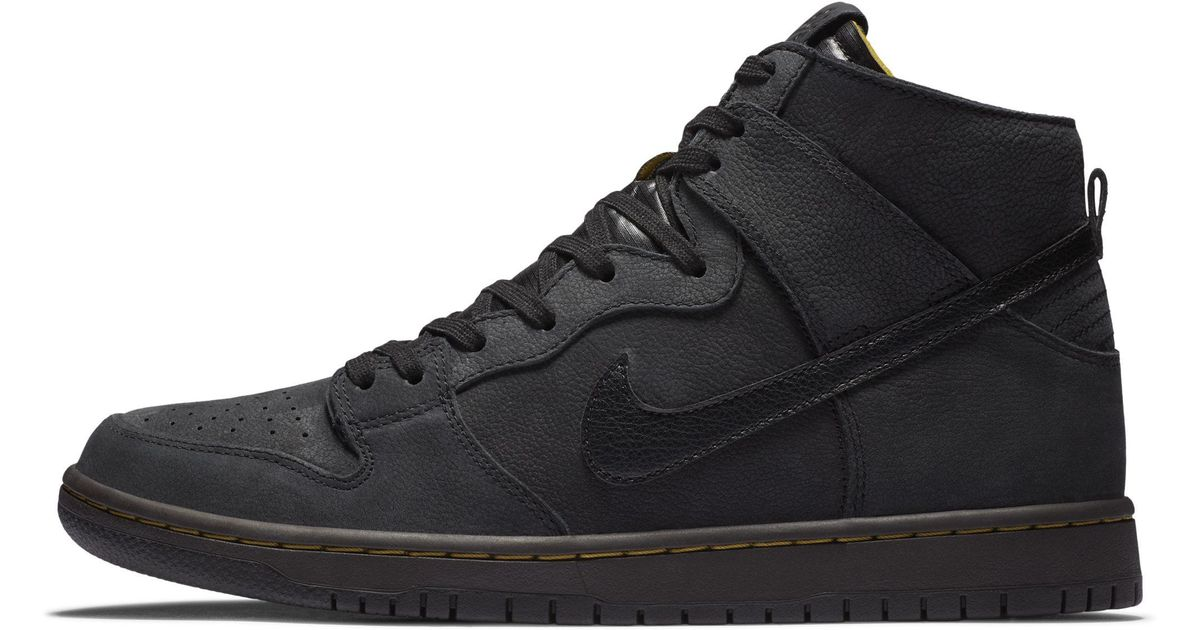 new concept 59afb 41264 Nike Sb Zoom Dunk High Pro Deconstructed Premium Skate Shoe in Black for  Men - Lyst