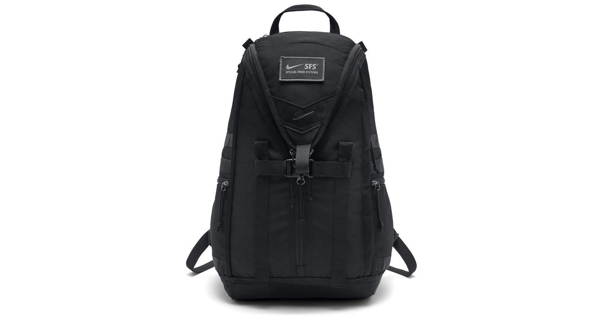 huge discount d02aa e9a5a Nike Sfs Recruit Training Backpack in Black for Men - Lyst