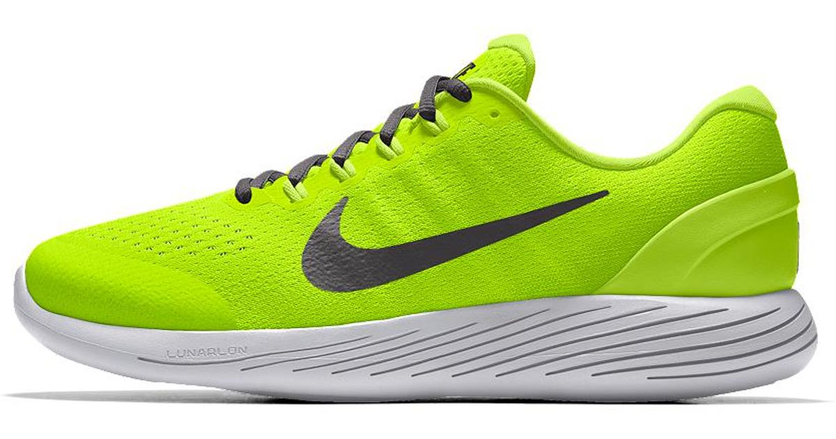 3fece09929182 ebay lyst nike lunarglide 9 id mens running shoe in yellow for men 00758  3a159