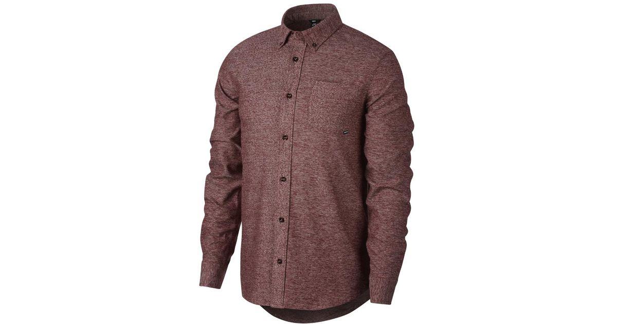 81b046dd52389 Lyst - Nike Sb Flex Holgate Men s Long Sleeve Top for Men