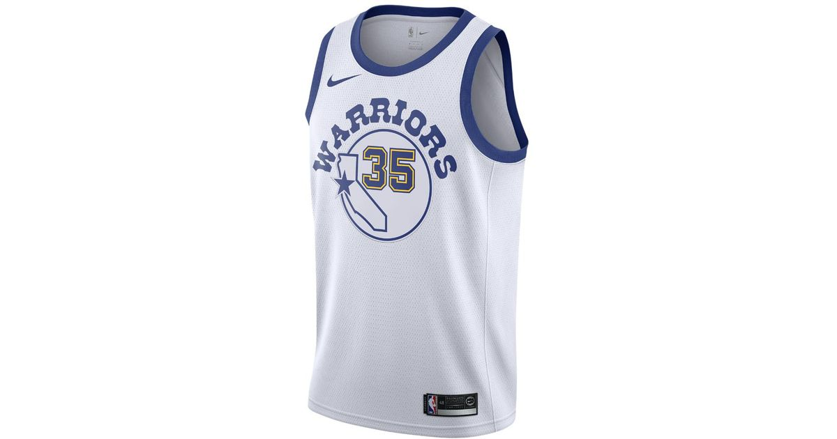 d28e857acd1a Lyst - Nike Kevin Durant Classic Edition Swingman Jersey (golden State  Warriors) Men s Nba Connected Jersey in Blue for Men