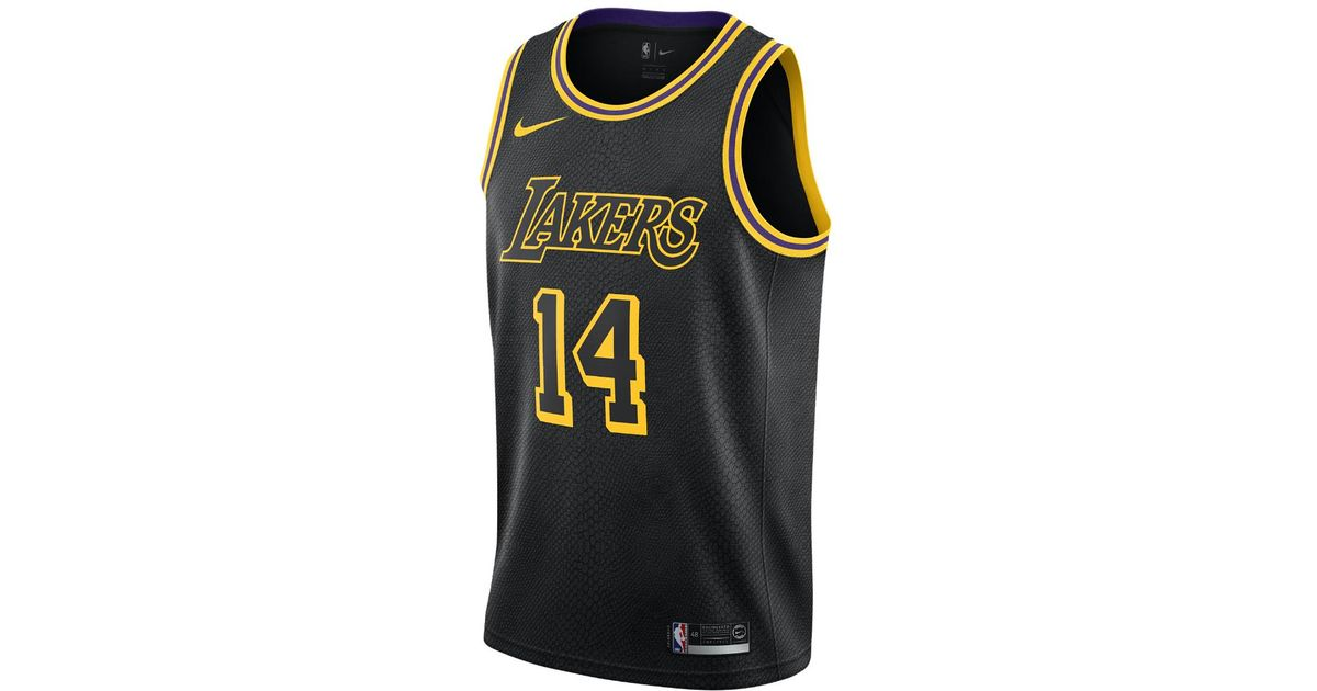 c7a5ae183da Lyst - Nike Brandon Ingram City Edition Swingman Jersey (los Angeles Lakers)  Men s Nba Connected Jersey in Black for Men
